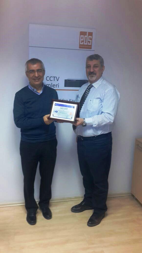 Eds Elektronik Osman Yıldız Beyi Makamında Ziyaret Ettik